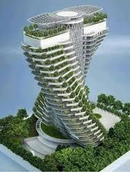 اضافة المسطحات الخضراء للمباني