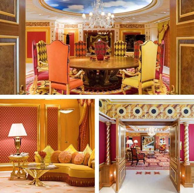 الاجنحة الفندقية - برج العرب