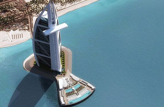 توسعة فندق برج العرب - دبي - 2016